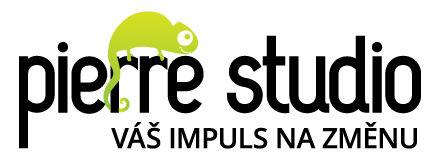 Pierre studio - váš impuls na změnu